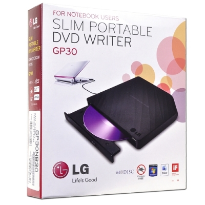 Hitachi/LG GP30NB30 Super Multi 8x DVD±RW DL USB 2.0 Slim External Drive